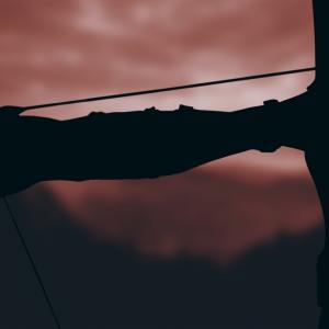 Bogenschützen -Battle  im Freien