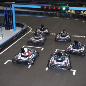 Elektrisches Kartfahren